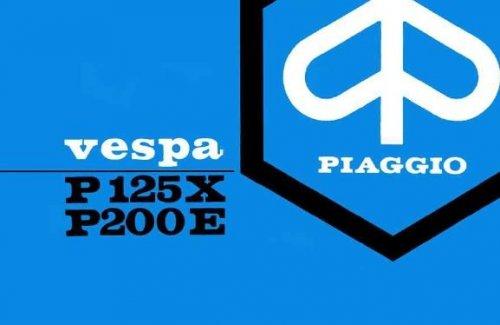 Uso e Manutenzione Vespa P125X - P150X - P200E