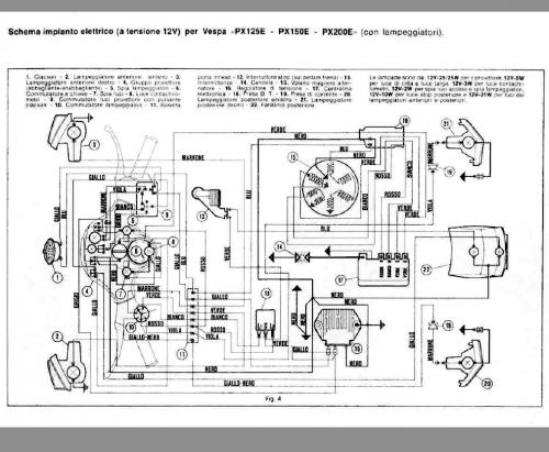 Schema Elettrico Frecce : Schema elettrico frecce fiat
