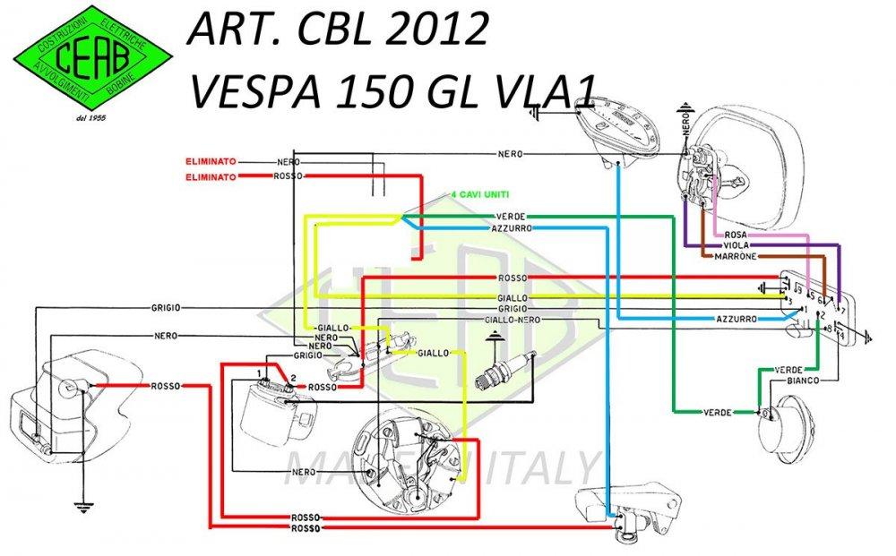 Schema impianto elettrico vespa 150 GL senza batteria.jpg